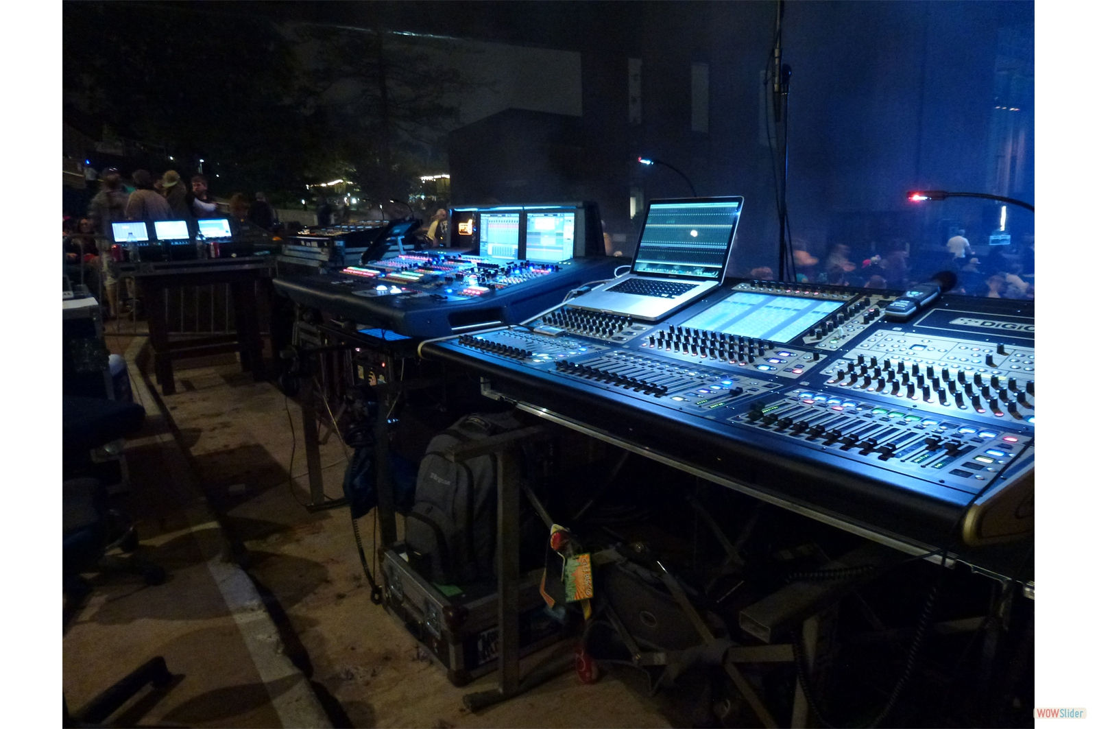 Mission Control at City Bisco - Mann Center; Philadelphia, PA.